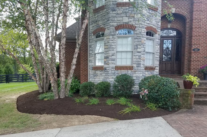 Great landscaping done by Landscape Enhancements